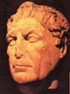 Mark Antony, ancient bust