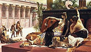 Cabanel, Cleopatra testing poisons on criminals