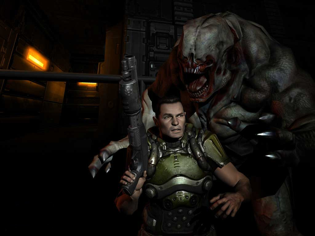 Games that you have to play before you die -> DOOM 3