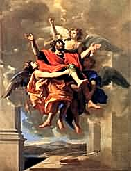 Poussin, Ecstasy of Saint Paul