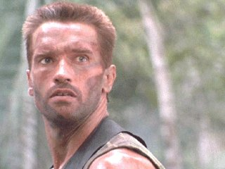 "Mr. Schwarzenegger's haircut in ""Predator"" may be a grown-out flattop."
