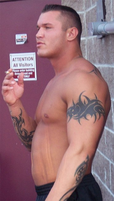 CAWs :: Randy Orton CAW for WWE SmackDown vs RAW 2009 randy orton tattoos