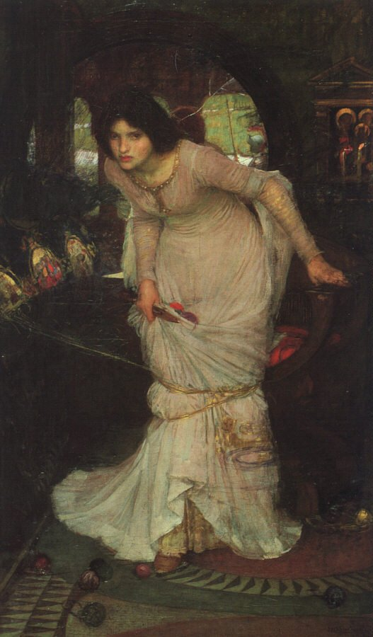 Chow 106 :: The Lady Of Shalott