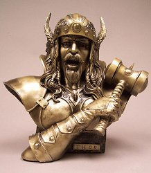 Thor Bust by Monte Moore
