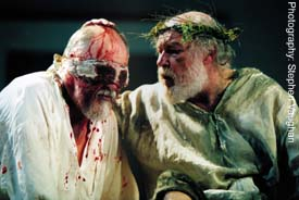 Michael Cronin and Timothy West