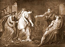 enjoying antony and cleopatra by william shakespeare henry tresham engraving iii ix